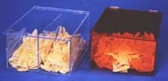 Bulk Glove Dispenser Amber Acrylic  Pic 1