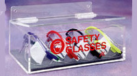 Safety Glass Holder w/Lid  Pic 1