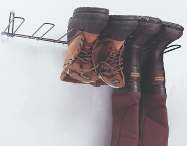Boot Rack, Black, Holds 3 Pairs