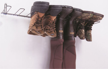 Boot Rack, Black, Holds 4 Pairs