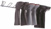 Boot Rack, Dark Green, PVC Coated , Holds 4 Pairs