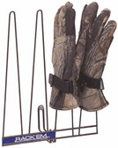 Glove Rack, Black, Holds 2 Pairs
