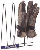 Glove Rack, Black, Holds 2 Pairs