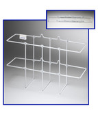 White MSDS/RTK 3-Ring Binder Rack