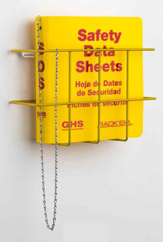 MSDS Binder, 1.5 inch, 3 Language - English, Spanish & French Canadian
