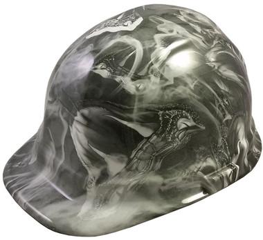 Venom Snake White Hydro Dipped Cap Style Hard Hat pic 1