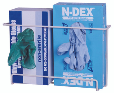 Front Dispensing Exam Glove Rack, Holds 2 Boxes