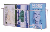 Front Dispensing Exam Glove Rack, Holds 3 Boxes