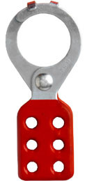 Lockout Tagout Hasps Interlocking Style w/ 1.5 inch opening  Pic 1