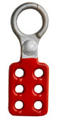 1 inch opening Hasp Die-Cast w/ red coating.  Pic 1