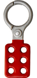1.5 inch opening Hasp Die-Cast w/ red coating  Pic 1