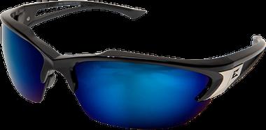Edge Khor Safety Glasses ~ Blue Mirror Lens