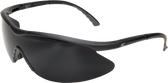 Edge Banraj Safety Glasses ~ Black Frame with Smoke Lens