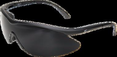 Edge Banraj Safety Glasses ~ Black Frame with Smoke Lens