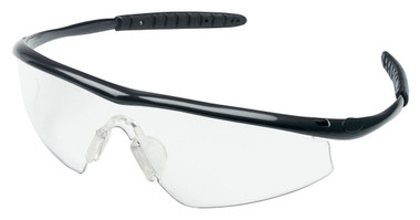 Crews Tremor Glasses ~ Onyx Frame ~ Clear Lens