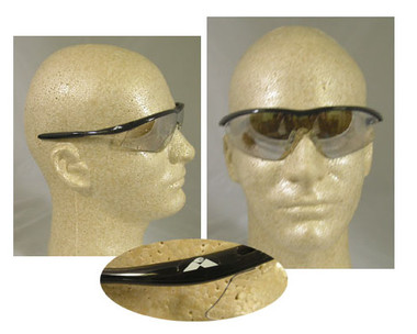 Crews Tremor Glasses ~ Onyx Frame ~ Indoor/Outdoor Lens