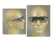 Crews Tremor Glasses ~ Indigo Blue Frame ~ Indoor/Outdoor Lens