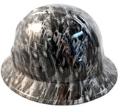 M16 Rifle Hydro Dipped Hard Hats Full Brim Style
