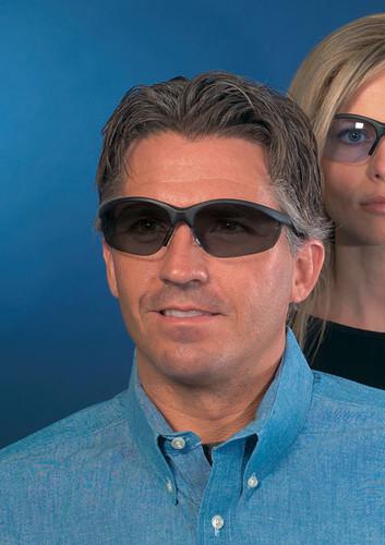 Crews Klondike Safety Glasses ~ Smoke Lens