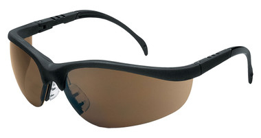 Crews Klondike Safety Glasses ~ Brown Lens