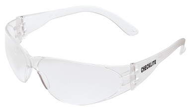 Crews Checklite Safety Glasses ~ Clear Lens