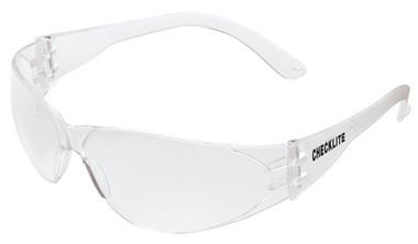 Crews Checklite Safety Glasses ~ Fog Free Clear Lens