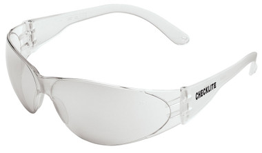 Crews Checklite Safety Glasses ~ Indoor/Outdoor Mirror Lens