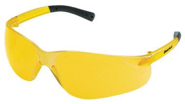 Crews Bearkat Safety Glasses ~ Amber Lens