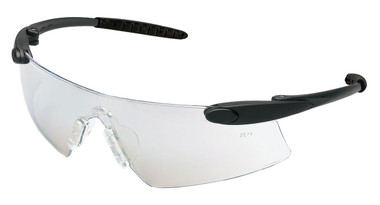 Crews Desperado Safety Glasses ~ Black Frame - Indoor Outdoor Lens