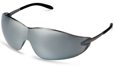 Crews Blackjack Safety Glasses ~ Silver Mirror Lens