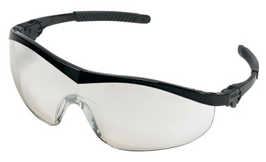 Crews Storm Safety Glasses ~ Black Frame and Indoor Outdoor Lens