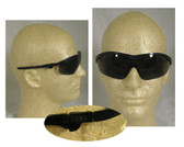 Crews Storm Safety Glasses ~ Blue Frame and Smoke Lens