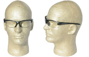Smith and Wesson ~ Equalizer Glasses ~ Gun Metal Frame, Clear Lens