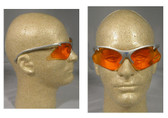Smith and Wesson ~ Code 4 ~ Gray Frame/Orange Lens