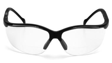 Pyramex Safety Glasses ~ Venture II Readers ~ 2.5 Indoor Outdoor Lens