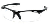 Pyramex Avante Safety Glasses ~ Black Frame ~ Clear Lens