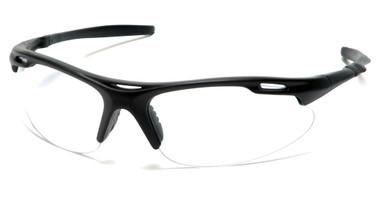 Pyramex Avante Safety Glasses ~ Black Frame ~ Clear Lens
