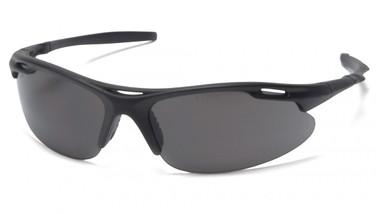 Pyramex Avante Safety Glasses ~ Black Frame ~ Gray Lens