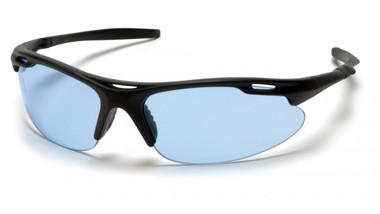 Pyramex Avante Safety Glasses ~ Black Frame ~ Infinity Blue Lens