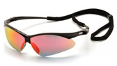 Pyramex Wildfire Safety Glasses ~ Ice Orange Mirror Lens