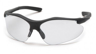 Pyramex Fortress Safety Glasses ~ Black Frame ~ Black Indoor/Outdoor Lens