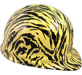 Tiger Yellow Hydro Dipped Hard Hats Cap Style