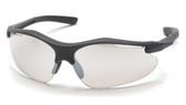 Pyramex Fortress Safety Glasses ~ Black Frame ~ Indoor Outdoor Lens