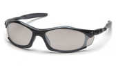 Pyramex Solara Safety Glasses ~ Black Frame ~ Indoor Outdoor Lens