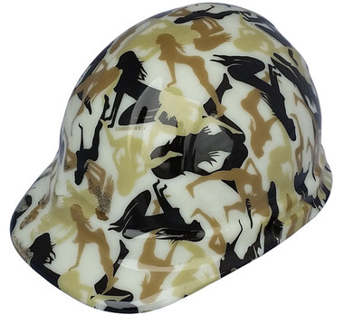 Bootie Girl GLOW IN THE DARK Cap Style Hard Hat  e945e5be1358