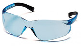 Pyramex Ztek Safety Glasses ~ Infinity Blue Lens