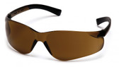Pyramex Ztek Safety Glasses with Brown (Coffee) Lens