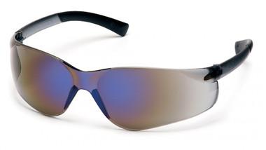 Pyramex Ztek Safety Glasses ~ Blue Mirror Lens