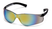 Pyramex Ztek Safety Glasses ~ Gold Mirror Lens