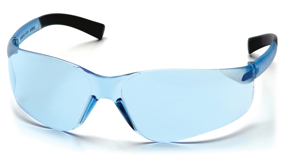 a71578aa6a22 Pyramex ~ MINI Ztek Safety Glasses ~ Infinity Blue Lens